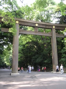 Torii (entrance to shrine)