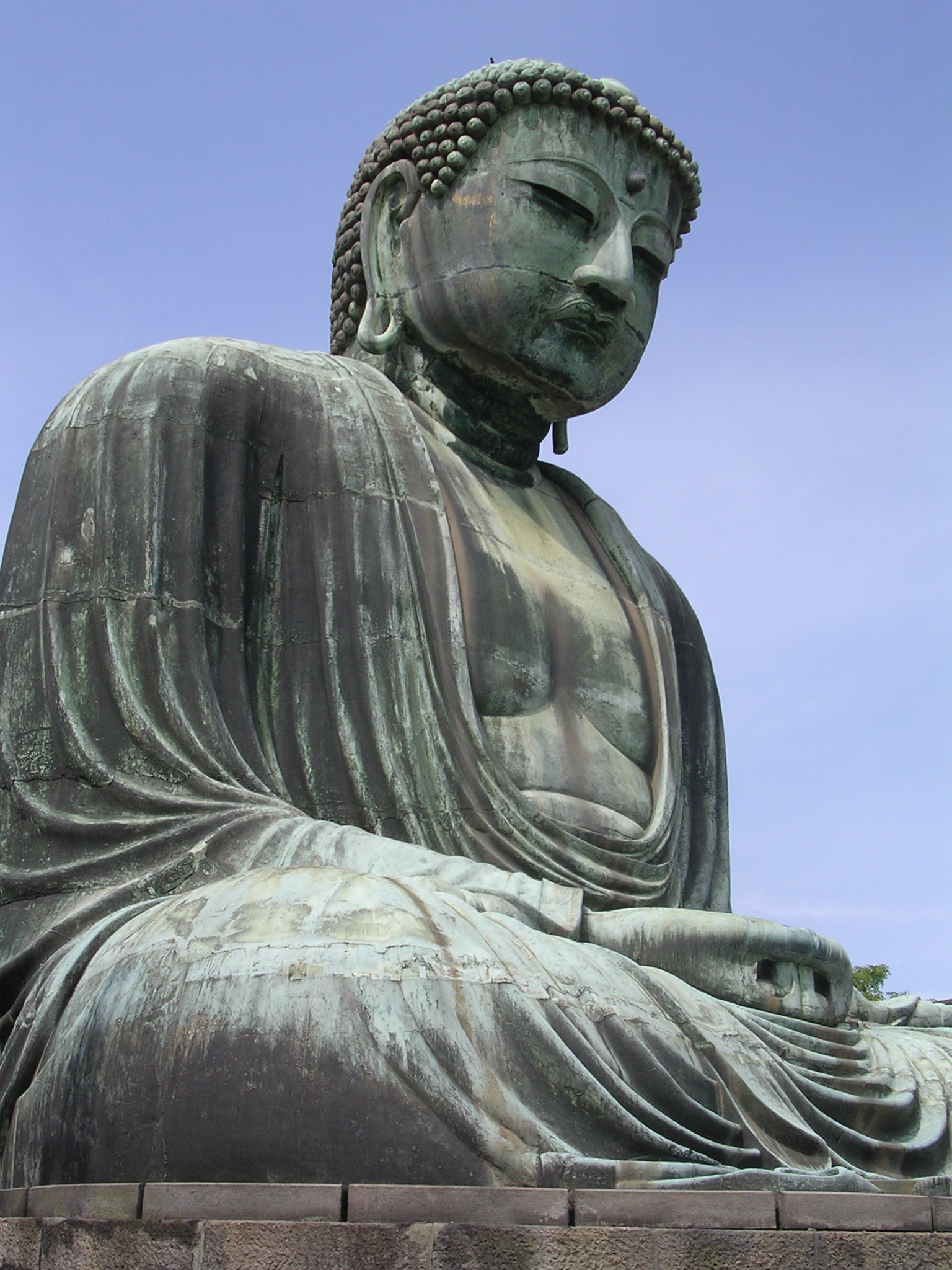 The Great Buddha of Kamakura, photo by JBG