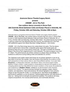 UWABE-Press Release