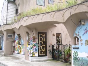 Entrancee to Kazuko Asaba's House, photo by jbg